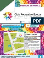 Club Recreativo Ezeiza Folleto2014-15 Low