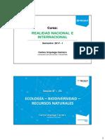 1. Ecología y Biodiversidad
