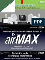 Soluciones Inalámbricas de Transporte de datos AC