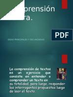 comprensinlectoraideasprincipalesysecundarias-140116080720-phpapp02.ppt