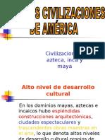Civilizaciones Americanas