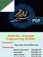 Final Microprocessor Presentation