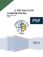 Plano de Curso de Agrimensura 2014