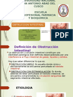 Expo Semio Obtruccion Intestinal