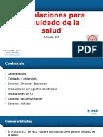 NEC 2014 InstalacionesEspecialesHospitalarias