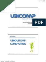 Ubiquitous Computing 2