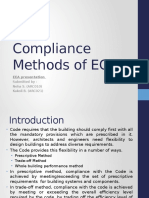 Compliance Methods of ECBC
