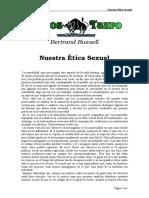Russell, Bertrand - Nuestra Etica Sexual