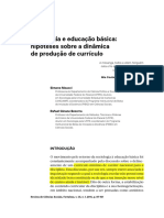 Meucci Currículo e Livro Didático