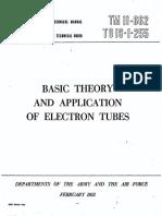 Army ElectronicsTheory