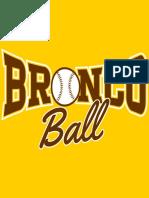 bronco ball design