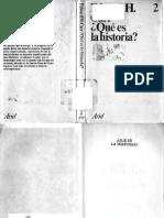Carr, E. H. - Que Es La Historia