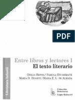 Fabiola Etchemaite & Ofelia Seppia - 2009 - Entre Libros y Lectores - La Poesía