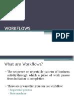 Work Flows in .Net