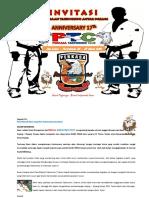 Proposal Invitasi Kejuaraan Taekwondo Uti Pro