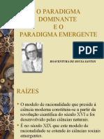 O Paradigma Dominante E O Emergente