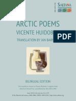 Poemas Árticos de Vicente Huidobro (Arctic Poems)