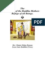 Mandala of the Buddha Mothers