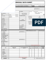CS Form No. 212 Revised Personal Data Sheet 01