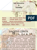 Presentation Refleksi Set Diorama & Boneka