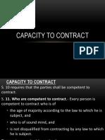 Zaara Capacity of Parties