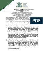 IV Cuestionario de la asignatura Negociación y Toma de Decisiones