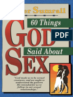 60 Things God Said About Sex Lester Sumrall
