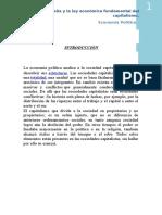Capitralismo, Plusvalia y Ley Fundamental Del Capital