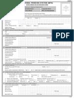Subscriber Registeration Form