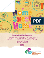 South Dublin County Community Safety Booklet - Full Design