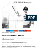 20 Inspirational Quotes for Kids to Inspire Their Best