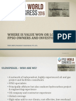 **Where is Value Won or Lost for FPSO Owners and Investors?