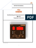 MB 101 - InSTRUCTION MANUAL_Temperature Control Device_engleza