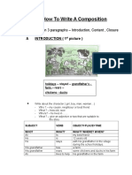 Pecutan PMR Sample