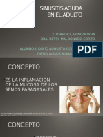 Sinusitis Aguda