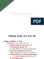 Paul's Prayer Class 13
