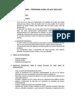 ALDEA_Plan de Actuacion_ies Acci