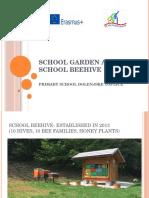 school garden and beehive - ppt croatia