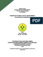 Human Capital Management Pak Suyono Thamrin