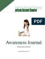 Awareness Journal