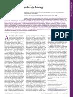 A Feeling ForThe Numbers In Biology PNAS2009.pdf