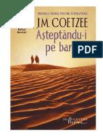Asteptandu-i Pe Barbari - Coetzee, John Maxwell