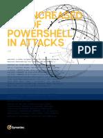 Increased Use of Powershell in Attacks 16 En