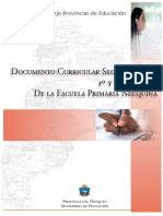 Segundo_Ciclo_Res_Nº_1237_06_CPE Documento Curricular Segundo Ciclo Escuela Primaria Neuquina