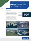 Marine Port Structure Guidance