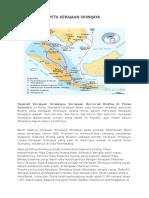 Peta Kerajaan Sriwijaya