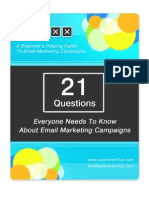 Free Email Marketing Guide