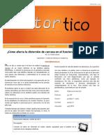 2015 OCT - Como Afecta La Distorsion de Carcasa en El Funcionamiento de Un Motor Eléctrico
