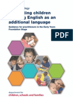 Supporting Children Learning English as an Additional Language DCSF 2007