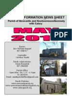 News 2017 The Parish of Newcastle & Newtownmountkennedy with Calary, Co. Wicklow, Ireland